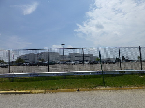 Former JCPenney store in North Randall, Ohio