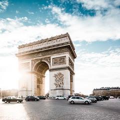 Arc de Triomphe (Philipp Gtze) Tags: paris arcdetriomphe champselysee triumphbogen