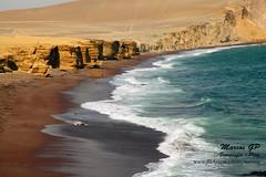 Playa Supay (Marcos GP) Tags: trip beach peru playa ica peruvian reserva supay marcosgp