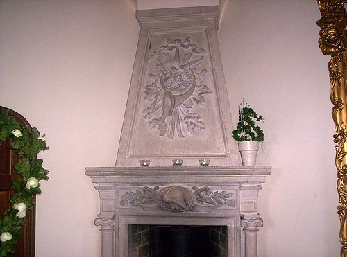 Teleborg fireplace