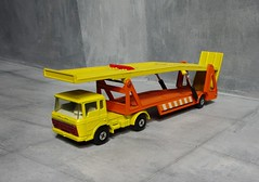 Matchbox Toys Super Kings DAF Car Transporter No. K11 1971 - 5 Of 10 (Kelvin64) Tags: car toys 1971 no super kings matchbox transporter daf k11