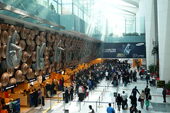 Immigration - Delhi airport