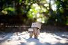 It Nice to Take a Moment (Arielle.Nadel) Tags: summer evening amazon warm bokeh moment yotsuba danbo toyphotography 22100 revoltech よつばと 100daysofsummer danboard ダンボー minidanbo bunnyrel ariellenadelphotography