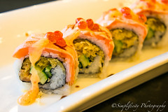 Salmon sushi rolls  (simplificity) Tags: food sushi asian photography cuisine japanese yummy salmon delicious eat rolls japanesefood asianfood delicacy sushirolls japanesestyle recommended