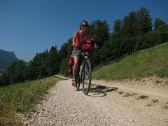 Première piste cyclable suisse. Que du beau!