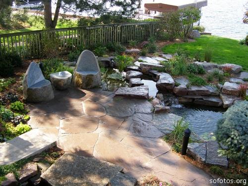 Paisagismo e jardinagem lagos ornamentais