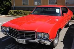 1970 Buick Skylark (D70) Tags: show canada car buick bc plate columbia tsawwassen license british 1970 annual legion collector skylark b25789