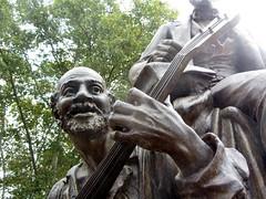 Uncle Ned (Peter Radunzel) Tags: sculpture usa statue oakland pittsburgh pennsylvania publicart stephenfoster unclened