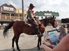 Buffalo Bill's Wild West Show (gudrunfromberlin) Tags: horses cowboys brocken pferde wildwest harz siedler indianer buffalobill rinder kuehe bueffel pullmancity planwagen westernstadt wilderwesten hasselfelde