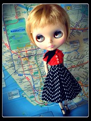 NYC SUBWAY BLYTHE CHRONICLES: Madison Love__Train: F__Station: 14th St