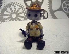 Rick Grimes Robot (Sleepy Robot 13) Tags: cute robot diy handmade robots polymerclay fimo comicbook kawaii sculpey etsy urbanvinyl marvel sculpting smallbusiness sleepyrobot13 polymerclayurbanvinylsleepyrobot13etsysilvercraftcraftscraftingsculptingsculpturefigurinearthandmadecraftshowcutekawaiirobots