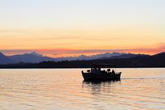 Fishboat (Simos1968) Tags: sunset colors reflections goldensea simos1698