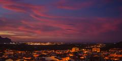 Cap a la mar (ea5dfv) Tags: rojo cel cielo ocaso anochecer roig pedreguer ocs