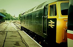 47484 at kenny o with was there a sunday morning reading-dover train 1986. (D1943ken) Tags: station railway class olympia kensington 47 47484