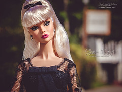 P1390754-1 (Sharon Wright Photography) Tags: fashion shopping walking photography los model angeles barbie sharon sidewalk convention editorial wright premiere integritytoys poppyparker tricksuphersleeve