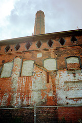 Belfast Gasworks - Old Wall