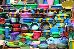 Buckets in Mali (Ferdinand Reus) Tags: africa food shop bucket market explore afrika buckets mali afrique