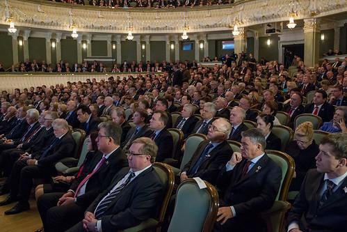 Торжественное заседание Федерального Собрания, посвященное 20-летию Конституции РФ