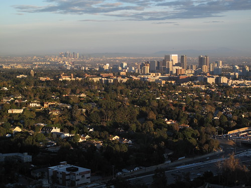 Downtown Los Angeles in the distance
