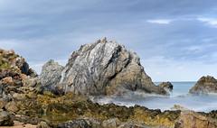 Rock outcrop near Camel Rock Bermagui (laurie.g.w) Tags: ocean outcrop lake seascape beach rock coast south shoreline camel nsw tidal zone bermagui rockoutcrop wallaga