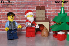 Dec 24th 2013 (Bond Photography Creations) Tags: santa christmas city toy advent calendar lego plastic minifig