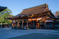 Yasaka Jinja Shrine, Kyoto /  (Kaoru Honda) Tags: city autumn nature japan landscape temple japanese nikon kyoto traditional        redleaves higashiyama       d7000