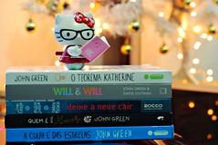 John Green (Sai da Minha Lente) Tags: book hellokitty livro autor myroom juvenil johngreen intrínseca aculpaédasestrelas deixeanevecair willtewill quemevocêalasca
