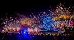 (hunterxstevenx) Tags: wheel taiwan ferris firework kaohsiung     2014     canoneos5dmarkiii ishouuniversity steventseng