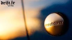 Subaru Impreza P1 Prodrive (byFCdesign) Tags: blue sunset 3 paris france doors photographie flat oz engine turbo subaru impreza sti awd p1 prodrive f35 byfcdesign
