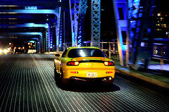 (Mitchell Askelson) Tags: bridge yellow 50mm nikon florida turbo jacksonville mazda rx7 v8 matthews ls1 18g d5100 flickrandroidapp:filter=none