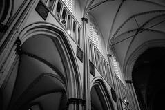 St. Salvator's Cathedral (SerelSnauw - DigitalSkills.nl) Tags: street church blackwhite belgie brugge fujifilm 2014 x100 buges digitalskills fujifilmx100 serelsnauw