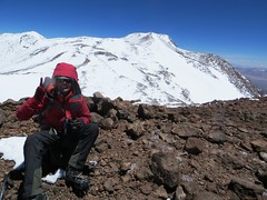 On the Samore summit (6700m) of Pissis