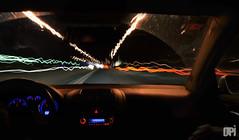 coche noche (diegopiqueras) Tags: cars car photoshop lights luces design photo cool long exposure foto diego coche inside cerrado effect diseo dentro exposicion larga efecto piqueras obturador