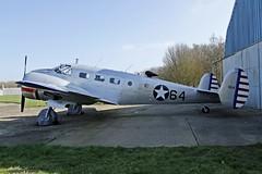 G-BKGL Beech UC-45J (M0JRA) Tags: aircraft planes beech uc45j gbkgl