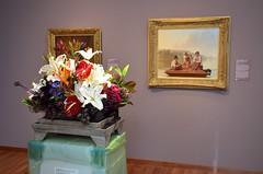 Bouquets to Art 2014 at De Young Museum (Steve Rhodes) Tags: sanfrancisco flowers art deyoungmuseum museum deyoung artmuseum 2014 bouquetstoart uploaded:by=flickrmobile flickriosapp:filter=nofilter bouquetstoart2014