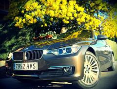 BMW Serie 3 (tres cuartos delantero)