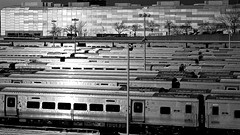Hudson Yards (Explore) (Tommy Bass) Tags: hudsonyards lirr manhattan nyc newyorkcity highline canon trains