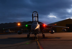 Night Tornado (np1991) Tags: royal air force raf lossiemouth lossie moray scotland united kingdom uk panavia tornado gr4 tonka gr 4 night shoot shot xvr xv x v r fifteen 15r 15 1 5 reserve squadron sqn operational conversion unit ocu nikon digital slr dslr d7100 camera tamron 18200mm 18 200 18200 mm lens aviation planes aircraft