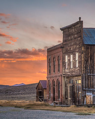 Bodie IOOF Hall at Sunset (Jeffrey Sullivan) Tags: bodie state historic park night photography workshop eastern sierra bridgeport california usa nature landscape canon 5dmarkii photo copyright 2012 october 6 jeff sullivan