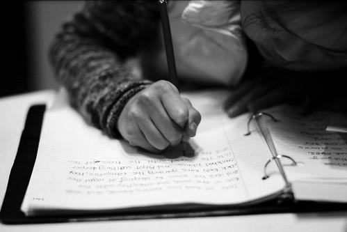 Writing - Film Leica