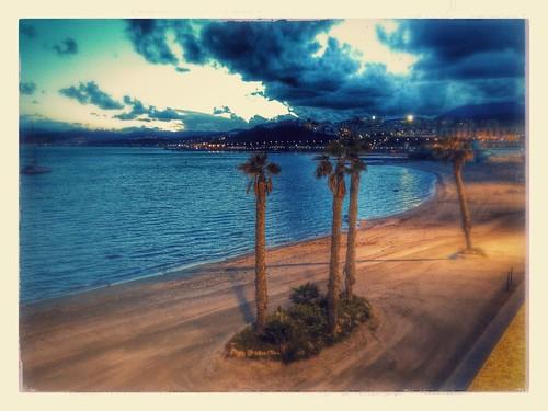 Bonita ciudad Ceuta. Impartiendo un curso sobre Software Libre en la Universidad de Ceuta con  Allan Psicobyte   OSL UGR  #curso #softwarelibre
