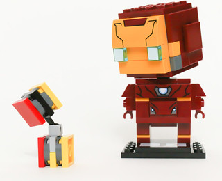 Iron man - Brick articulated-Headz