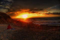 Beach Girl (Sunset Dogs) Tags: