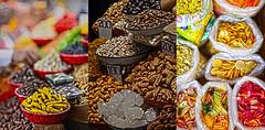 Old Delhi Market (JKIESECKER) Tags: markets spices india delhi olddelhi color yellow brown red orange