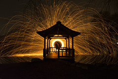 It Takes Me Away To That Special Place (CrazyCarClub) Tags: steel wool spinning light painting long exposure sparks random reflection night