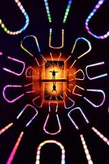 9-1 unun. (martbarras) Tags: martbarras lightpainting lpwa lpuk lightpainter nikon d7100 tokina 1116mm wide angle steelwool wirewool spinners camera rotation rotationalism intentional movement icm pixelstick tunnels torches 91 unun sooc jpeg dan whitaker brighton shoreham