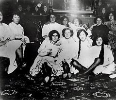 Ladies of the Night (~ Lone Wadi ~) Tags: prostitutes prostitution brothel bordello retro 1910s unknown portrait
