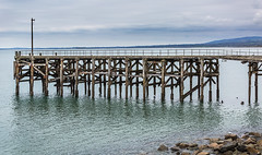Granite Pier at Trefor (Al142) Tags: piers trefor wales
