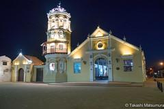 Iglesia Santa Barbara (takashi_matsumura) Tags: mompós bolívar colombia nikon d5300 sigma 1750mm f28 ex dc os hsm iglesia santa barbara mompox architecture ngc night