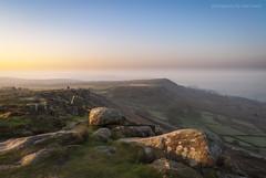 Curbar Dawn (marc_leach) Tags: landscape peakdistrict sunrise misty uk curbaredge nikon
